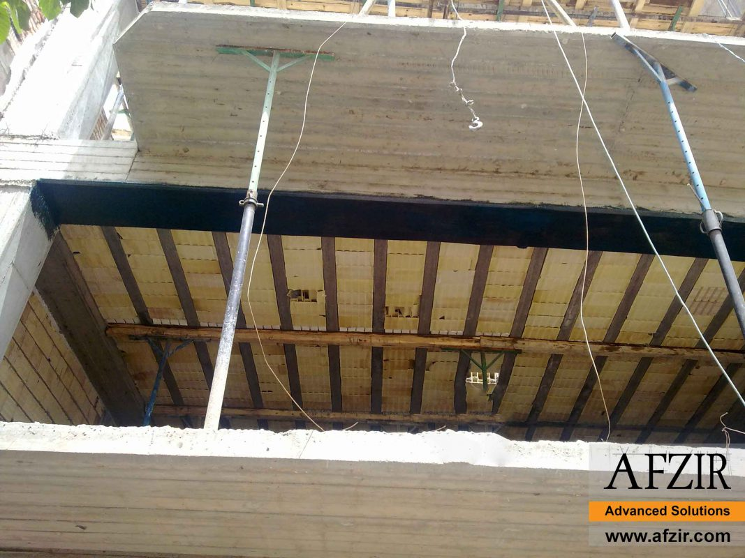 Concrete repair with FRP