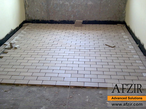 Anti-acid tiling