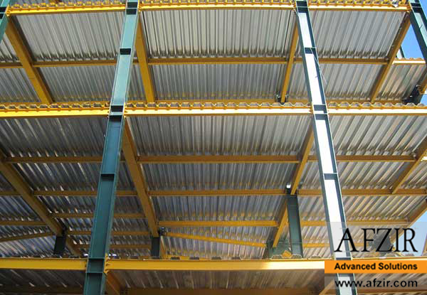 Anti corrosion paint for steel building
