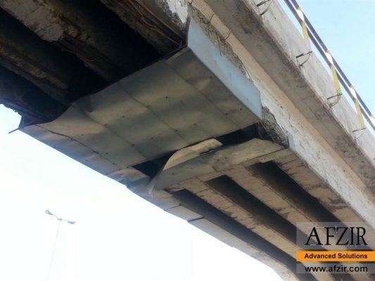 Corrosion in bridge