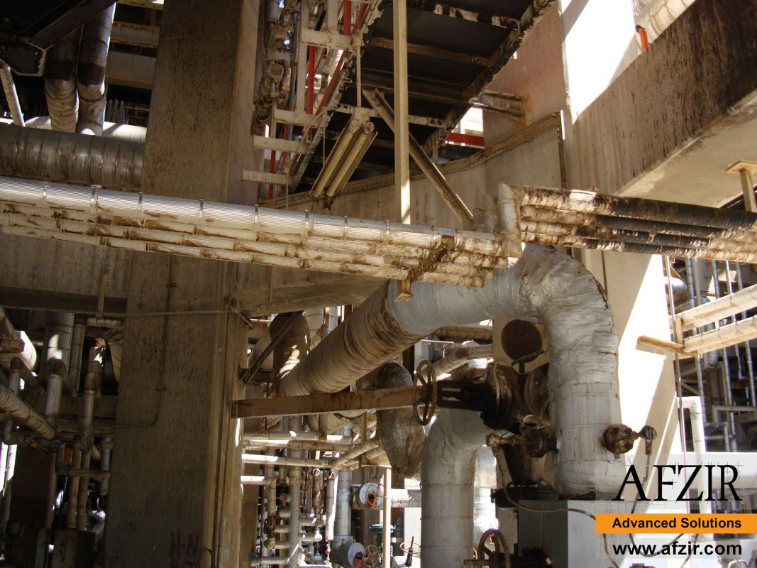 Corrosion of pipes