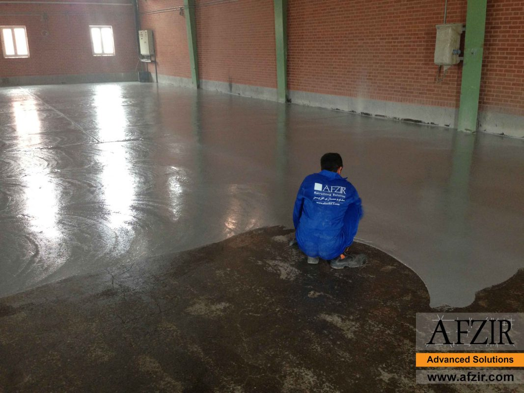 Waterproofing with epoxy