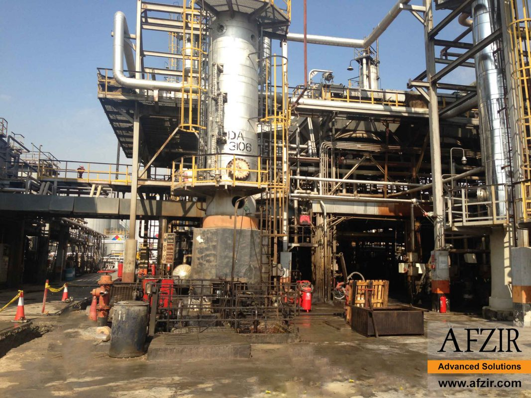 Retrofitting in oil and gas industry