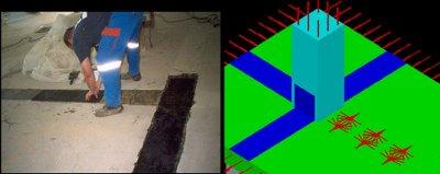 بهسازی دال با FRP در نواحی لنگر منفی