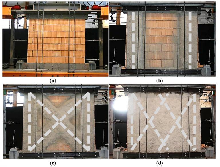 مقاوم سازی دیوار به کمک لایه های مصالح کامپوزیت پلیمری FRP