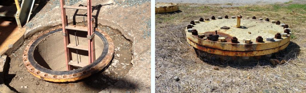مقاوم سازی چاهک تاسیسات به کمک مصالح کامپوزیت پلیمری FRP شرکت افزیر