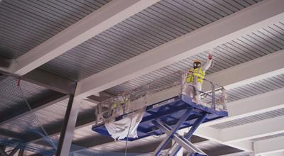 پوشش ضد حریق سازه های فولادی