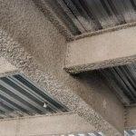 پوشش ضد حریق برپایه مواد معدنی پاششی
