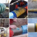 مقاوم سازی لولههای فولادی با FRP