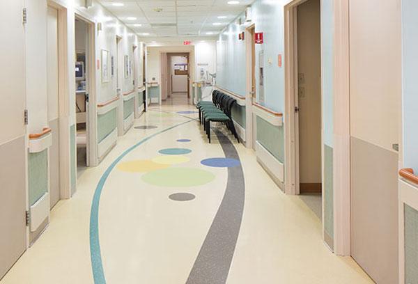 کفپوش بیمارستانی با طرح های متنوع