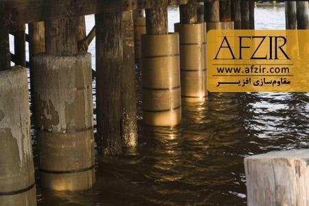محافظت سازه های دریایی و اسکله ها