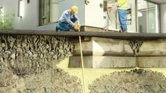 فیکسینگ تجهیزات صنعتی به روش تزریق تحت فشار گروت