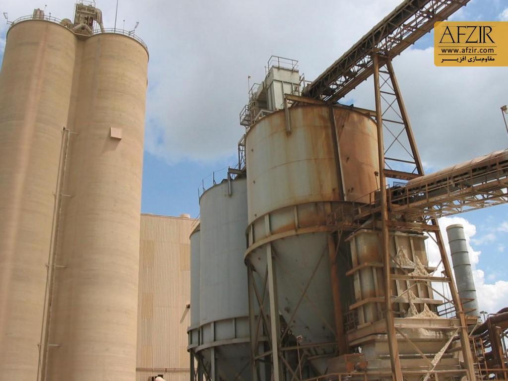 بهسازی و مقاوم سازی صنایع فولاد و کارخانجات سیمان
