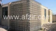 مقاوم سازی با استفاده از میلگردهای قائم و پس تنیدگی دیوار
