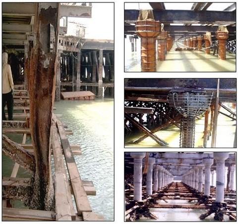 مقاوم سازی ستون فولادی