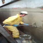 آببندی با پودر کریستال شونده