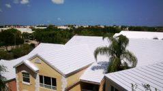 استفاده از عایق سفید یا بام سفید در سطوح شیب دار