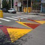 عایق اکریلیکی دو جزئی رنگ ترافیک