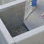 آببندی با چسب بتن