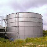 مخزن فولادی آب