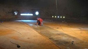 تقویت مخازن فولادی آب
