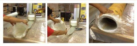 تقویت لوله فولادی نفت و گاز با Flexitube شیشه ای