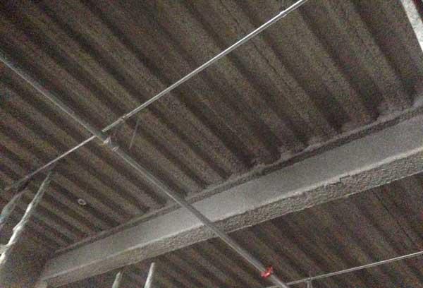 اجرای پوشش ضد حریق کارخانه کاغذ سازی