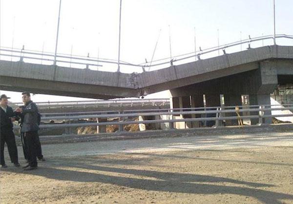 تخریب پل کن در اثر عدم مقاوم سازی به موقع