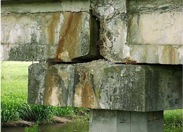 خوردگی در پل ها