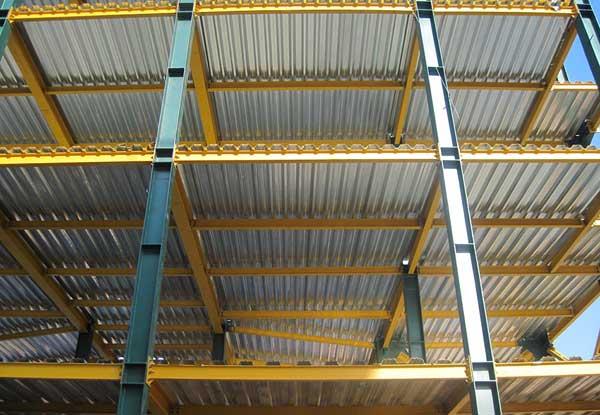 پوشش ضد زنگ ساختمان فولادی
