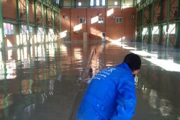 Expoxy floor coating
