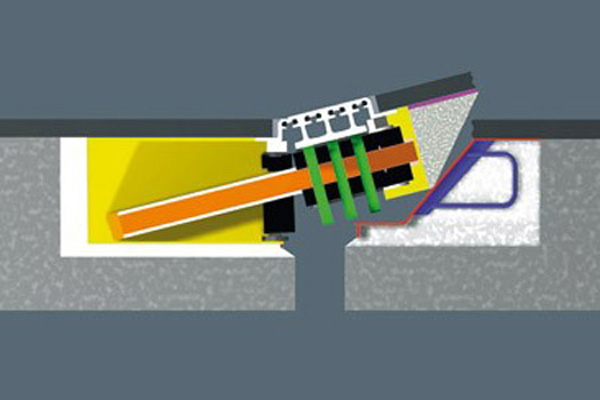 درزگیر انبساط مقاوم در برابر زلزله - مجهز به فیوز باکس