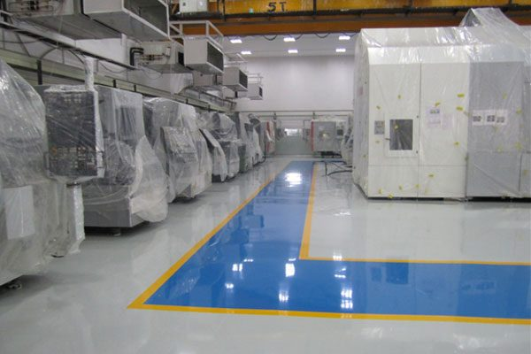 anti static & acid proof epoxy floor coating