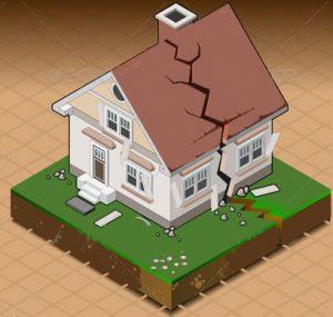 خسارت های ناشی از زلزله