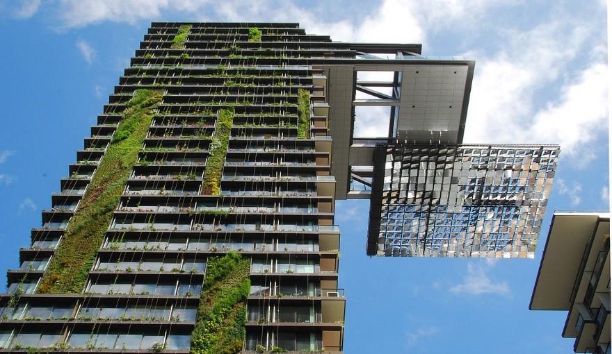 مقاومسازی سبز یک ساختمان
