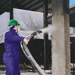 پوشش ضد حریق سازه فولادی/شرکت افزیر